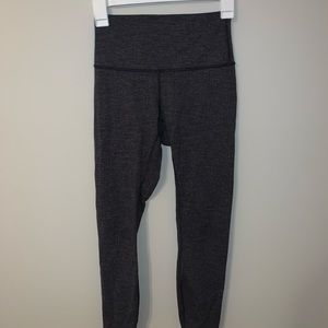 lululemon athletica Pants - Lulu Lemon Heathered Herringbone Wunder Under